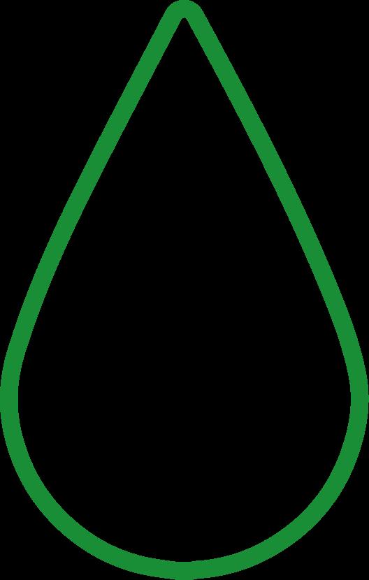 Logo analisi del sangue verde